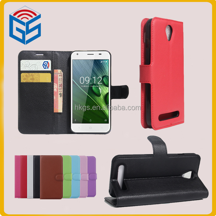 Smart Phone Gadgets Wallet Leather Case For Acer Liquid Z6 Flip Cover