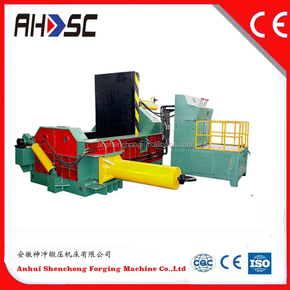 Y81Q-1350 Factory price horizontal metal scrap baler for waste management (CE ISO)