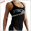 OEM high quality 100 cotton womens gym singlet wholesale china