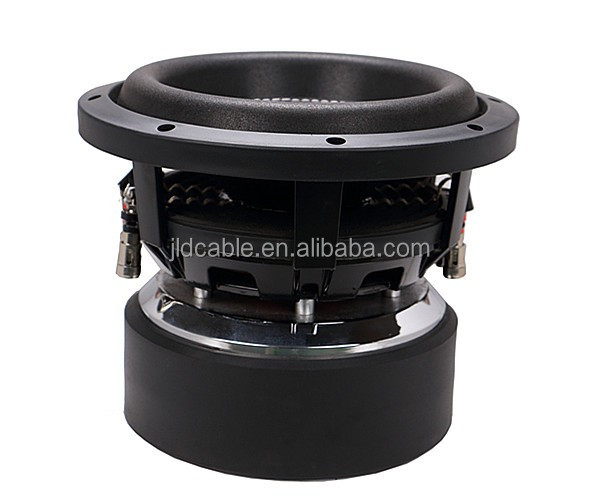 "China car subwoofer,500W RMS POWER / 1000W Max power 8"" SPL8 car subwoofer"