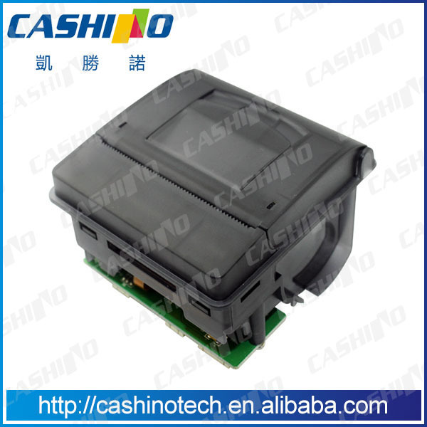 58mm micro panel mount printer mini thermal receipt printer with cutter for queuing machine