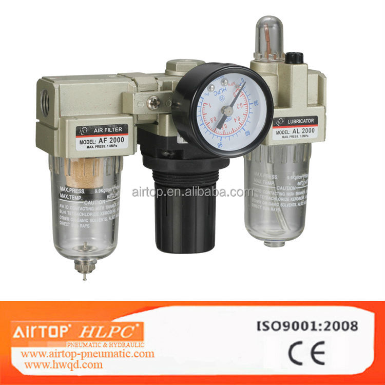 SMC Type F.R.L AC 1000~5000 Series Air Filter Combination,Pneumatic Air source treatment