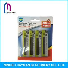 Eco-friendly fashionale cheap pencil lead raw material