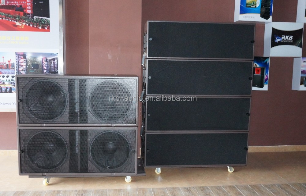 LA-215 Grande scoperta sistema line array/3-way linea Passiva array/Touring line array speaker
