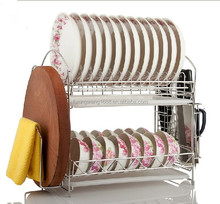 Stainless Steel Kitchen Dish Rack Dish Holder Dish Wire Display Rack