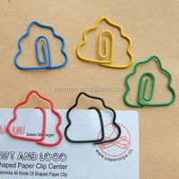free design promotion paper recycle pen paper clip low MOQ