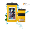 Transparent Touchscreen Waterproof Dry Pouch Cover Bag For iPhone Cell Phone 6''