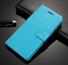 Customize Card Slot PU Genuine Leather Flip Wallet Case for coolpad series phone Ex-factory price