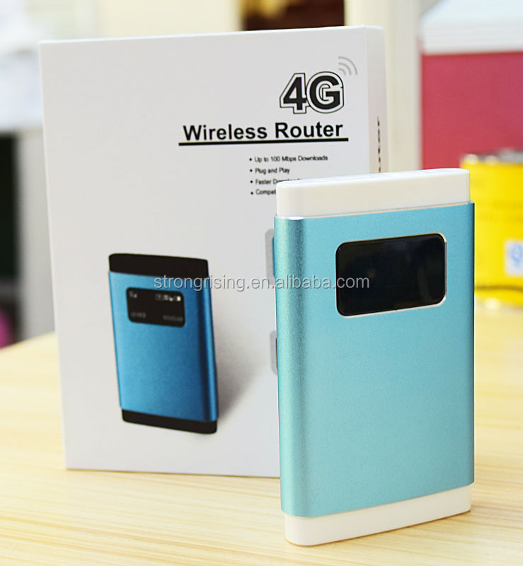 mini Qualcomm ce rohs 100Mbps long distance 4g modem lte router wifi with sim card slot