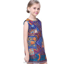african kitenge dress designs pictures sleeveless mother of bride girl child dress