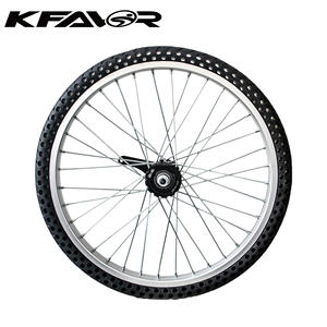 Good quality MTB mountain bike airless solid tire 26*2.10 wheels rim