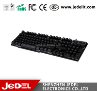 2017 Hot New Style Custom Branded Mechanical Suspension Type Keyboard for Computer