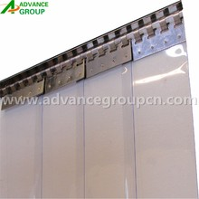 pvc curtain and pvc curtain rail