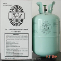 Eco 99.9% purity 30lbs Cylinder Freezer Gas Refrigerant R134a