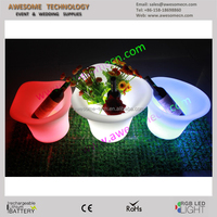 5L LED Ice Bucket Color with Light Change Flashing Cool Bars Night Party