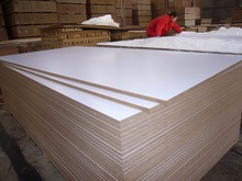 High gloss white melamine mdf board , which is mainly export to Iran , good quality ,competitive price .