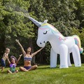Hot selling Unique Design Inflatable Unicorn Sprinkler Spray Ball Toys for Kids Water Playing Summer Garden Joy