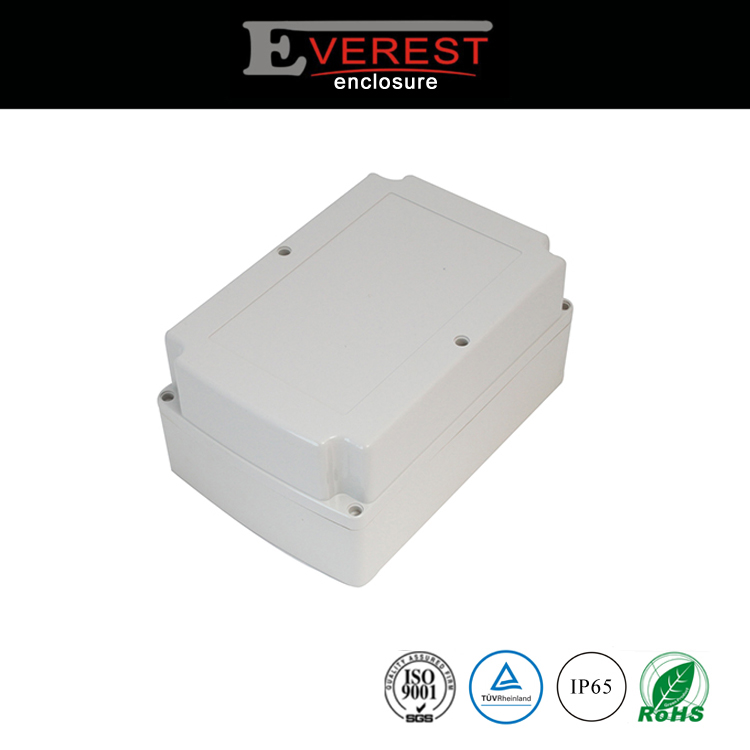 Indoor outdoor waterproof plastic housing for electronics products