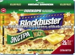 Exclusive Labels Snack Food Butter Microwave Popcorn