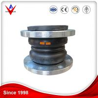 Eccentric reducing threaded union rubber joint for Construction engineering