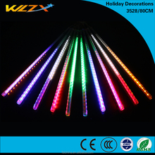 Led neon light 12*800 Christmas meteor led lighting holiday shower for Decor Tree