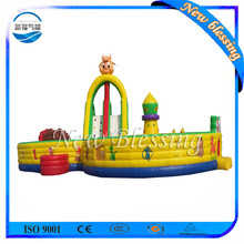 Discount large size inflatable fun city,inflatable funcity castle,Inflatables