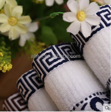 100% Cotton Yarn Dyed Jacquard Embroidery Soft and Pure Quality Hand Towel, Face Towel, Bath Towel