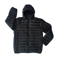 high quality cheap men padded jacket ready made in stock