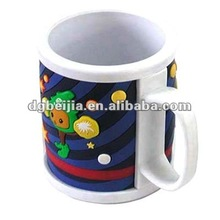2014 Hot Selling Funny Silicon Ceramic Mug Cup Souvenir BJM-C001