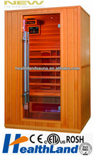 China produced hot sale CE certificate wood infrared sauna room