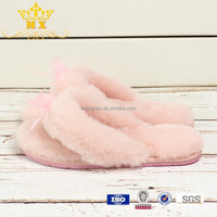 Women Sheepskin Slippers Sexy Bedroom Slippers