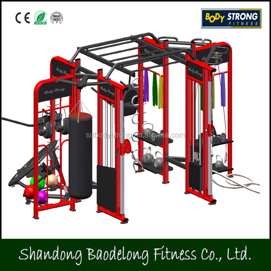 New Fitness Machines--CE approved Synrgy Commercial Use PRO 360 Crossfit Multi Functional Gym Equipment