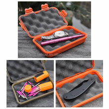 Outdoor Shockproof Waterproof Airtight Survival Carry Box Travel Sealed Containers Waterproof Storage Case