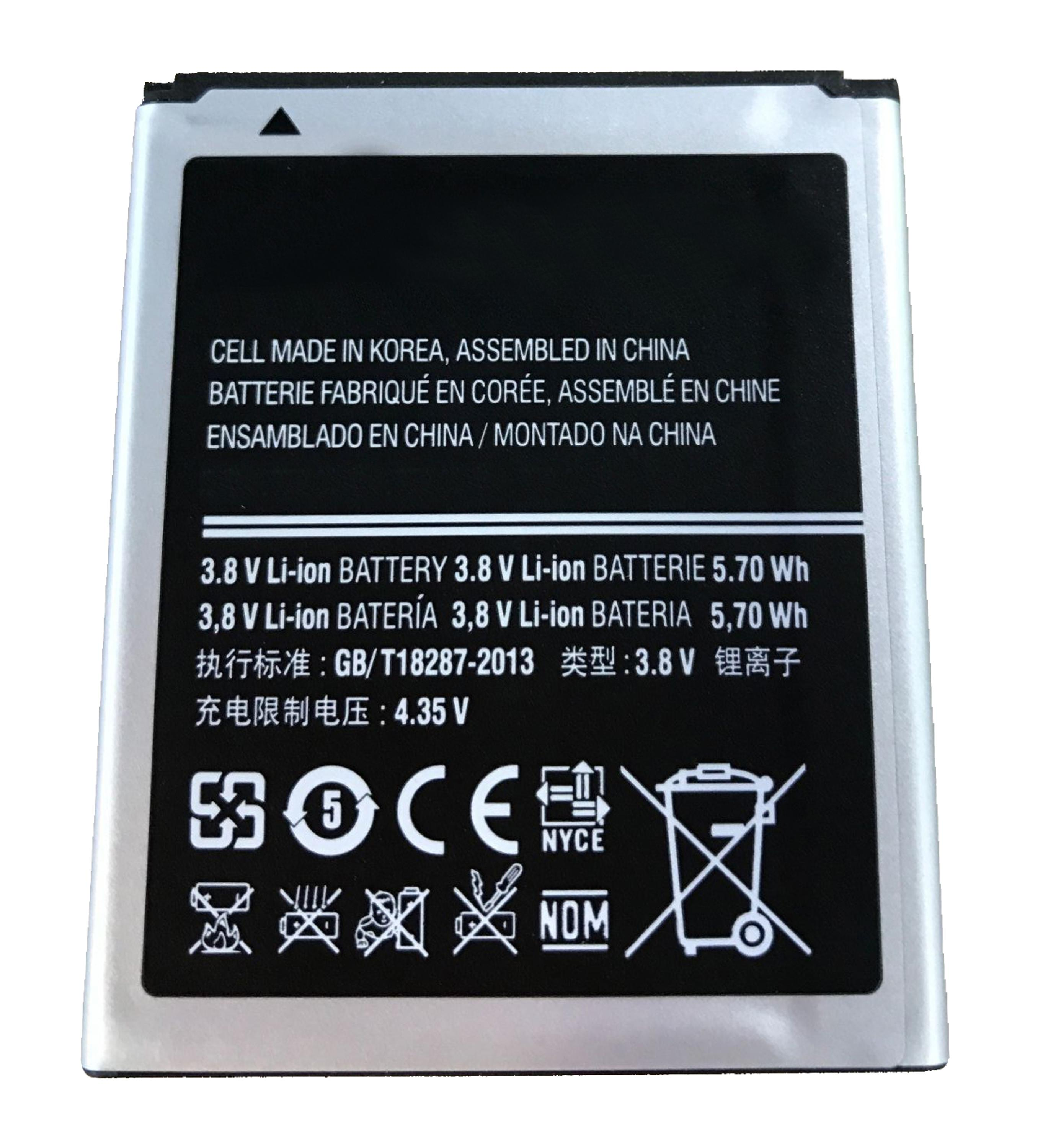 high quality EB425161LU battery for Samsung S3mini,replacement battery for Galaxy s7562 s7572