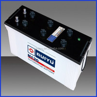 dry charged car battery n120 12v120ah