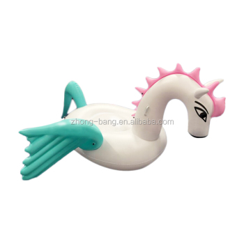 Inflatable Pegasus Pool Float Candy color pegasus pool mattress