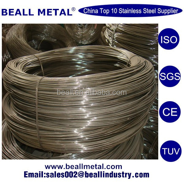 Pickling finish 17-4 Stainless steel wire rod 7mm