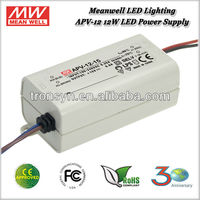 Meanwell APV-12-12 (12W 12V) 12W Single Output Switching Power Supply 12V LED Driver