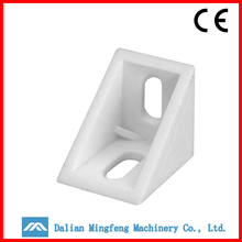china custom wholesale L shape Plastic bracket
