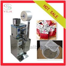 Granule stand up pouch filling and sealing machine for small business