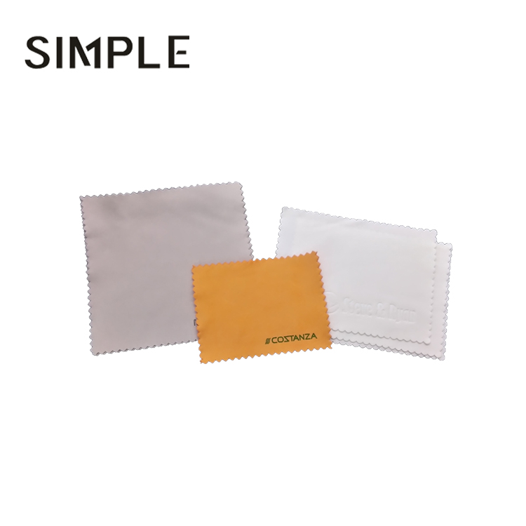 Microfibre wiper sunglasses lens cleaning cloth