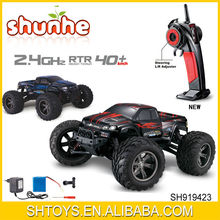 Newest 4WD RC car 2.4G 1:12 High Speed RC monster truck with charger