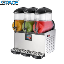 SPACE 3X12L commerial ice slush machine for sale SC-3 CE ETL Approved