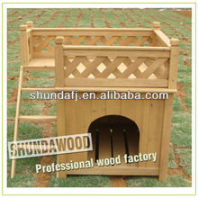 SDD01 Wooden eco-friendly dog kennel
