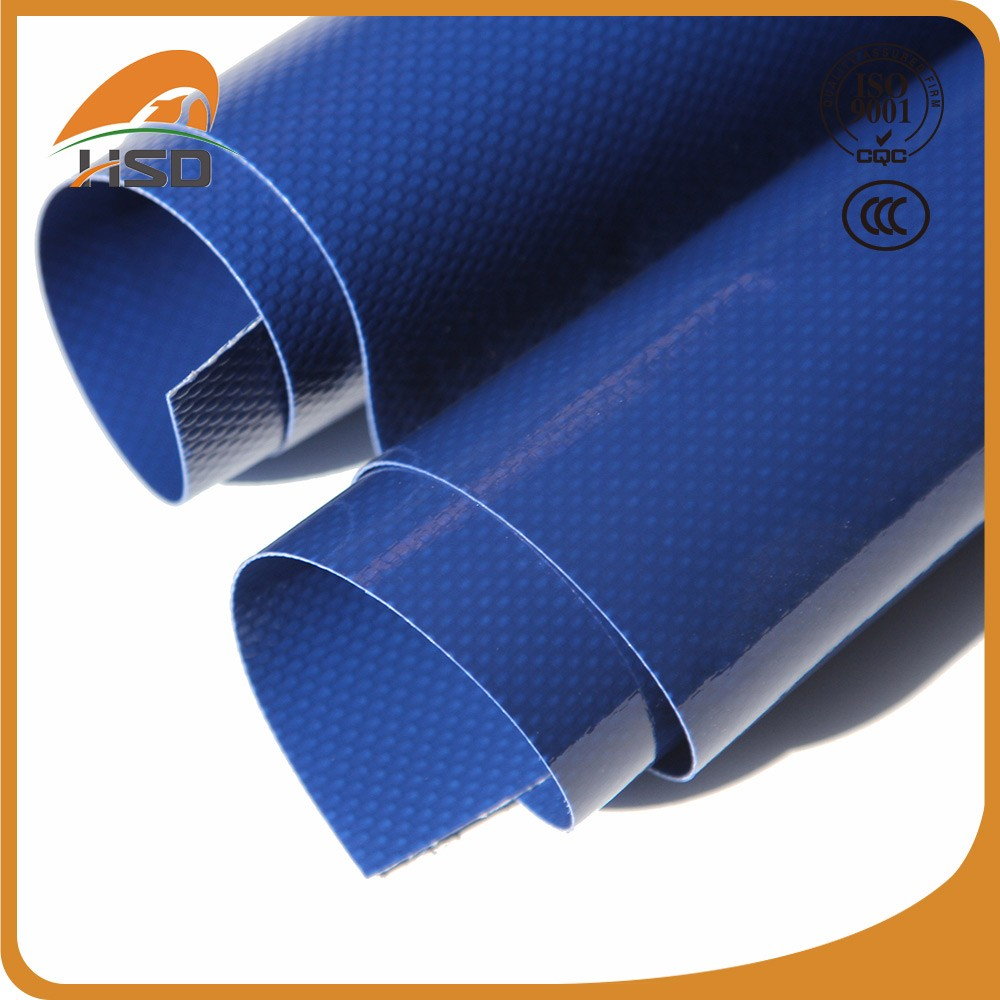 High tensile pvc coated tarpaulin cheap trampoline fabric