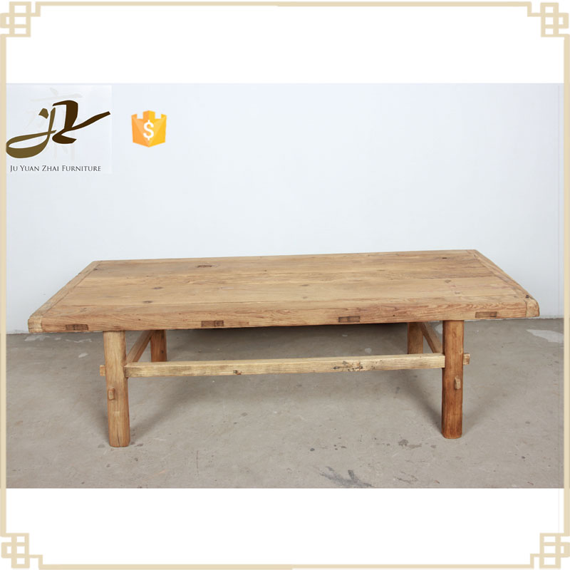 antique old wood nature color elm strong chinese simple old elm door wood board tea table dining table coffee table