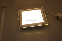 led glass panel light 6watt square shape isolated driver SMD2835