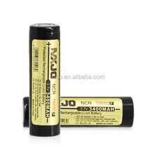 MXJO Li-ion NCR 18650 3400MAH 3.7V Protected Flat Top Battery