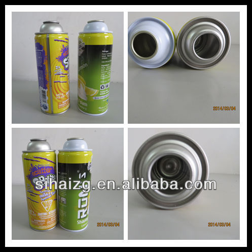 spray paint tin can for dia65x158MM/empty can for 400ml