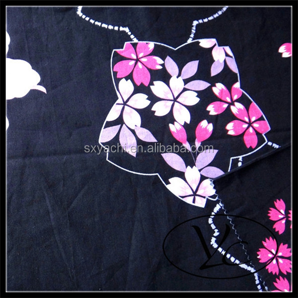 100% Cotton Printed Fabric Japanese kimono Fabric